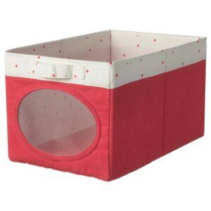 НОЙСЭМ Коробка, светло-красный 25x37x22 см - Артикул: 304.213.20