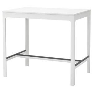 ЭКЕДАЛЕН Барный стол, белый 120x80 см - Артикул: 104.005.16
