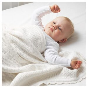 ГУЛСПАРВ Одеяло детское, белый 70x90 см - Артикул: 004.271.11