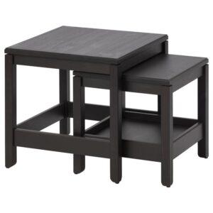 ХАВСТА Комплект столов, 2 шт темно-коричневый - Артикул: 104.042.89