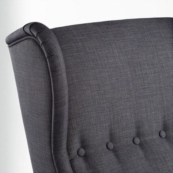 СТРАНДМОН Кресло с подголовником Шифтебу темно-серый - Артикул: 204.198.84