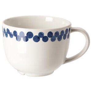 МЕДЛЕМ Кружка, белый/синий/с рисунком 49 сл [004.101.44]