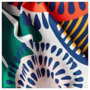 ИРМЕЛИН Ткань, белый/разноцветный 150 см - Артикул: 904.307.17