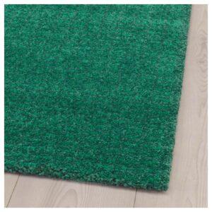 ЛАНГСТЕД Ковер, короткий ворс, зеленый 60x90 см - Артикул: 604.239.40