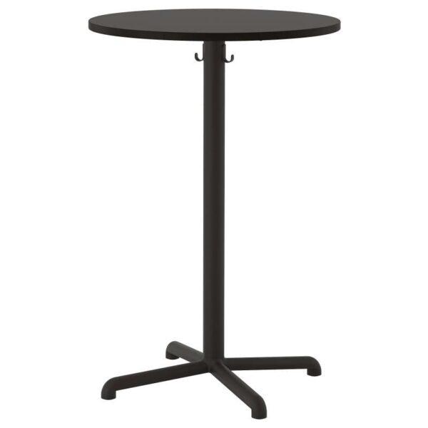 СТЕНСЕЛЕ Барный стол, антрацит/антрацит 70 см - Артикул: 592.882.26