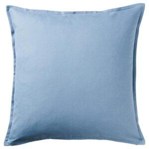 ГУРЛИ Чехол на подушку, голубой 50x50 см - Артикул: 304.334.17