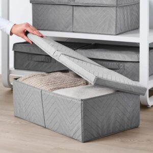 ФУЛЛСМОКАД Коробка для одежды с крышкой, 51x34x18 см - Артикул: 103.953.79