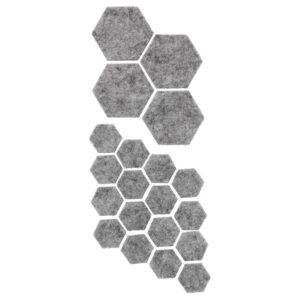 ФИКСА Наклейки на мебельные ножки, 20 шт, серый - Артикул: 604.311.53