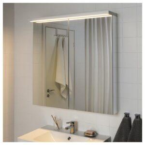 ГОДМОРГОН Светодиодная подсветка шкафа/стены, белый 100 см - Артикул: 504.308.37
