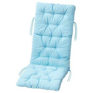 КУДДАРНА Подушка на садовую мебель, голубой 116x45 см - Артикул: 504.111.36