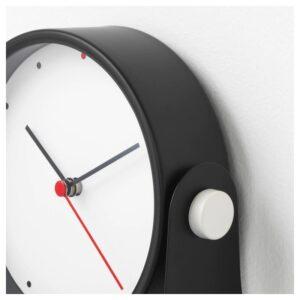 ГНИССЛА Настольные часы, черный 13 см - Артикул: 003.916.16