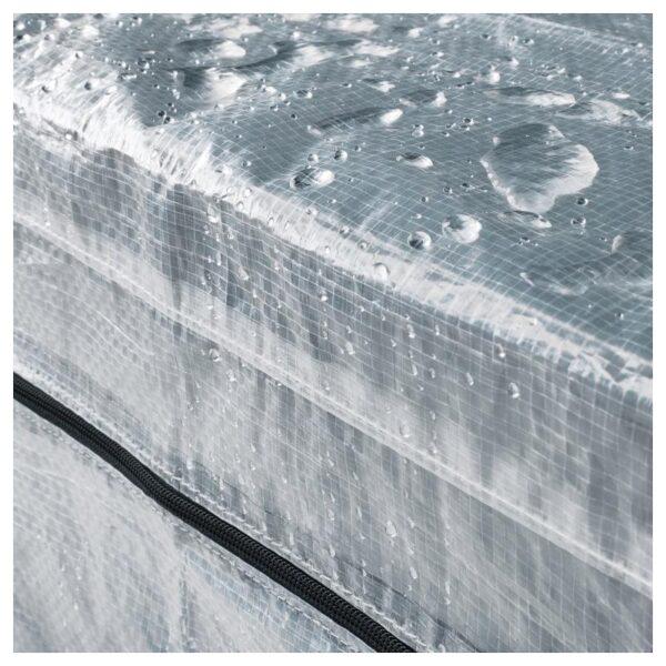 ХИЛЛИС Стеллаж с чехлом, прозрачный 60x27x140 см - Артикул: 592.917.47