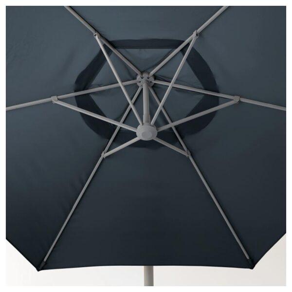 ОКСНЭ / ЛИНДЭЙА Зонт от солнца, подвесной, синий 300 см - Артикул: 392.914.56