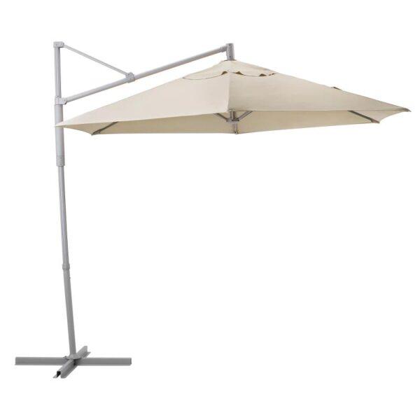 ОКСНЭ / ЛИНДЭЙА Зонт от солнца, подвесной, бежевый 300 см - Артикул: 292.914.52