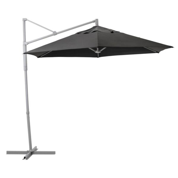 ОКСНЭ / ЛИНДЭЙА Зонт от солнца, подвесной, черный 300 см - Артикул: 592.914.60