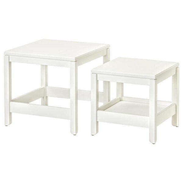 ХАВСТА Комплект столов, 2 шт, белый - Артикул: 504.042.87