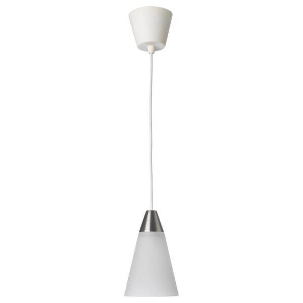 РЕСТАД Подвесной светильник конусообразный/белый - Артикул: 204.272.14