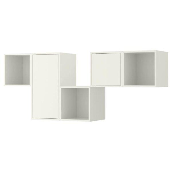 ЭКЕТ Комбинация настенных шкафов белый 175x35x70 см - Артикул: 292.846.49