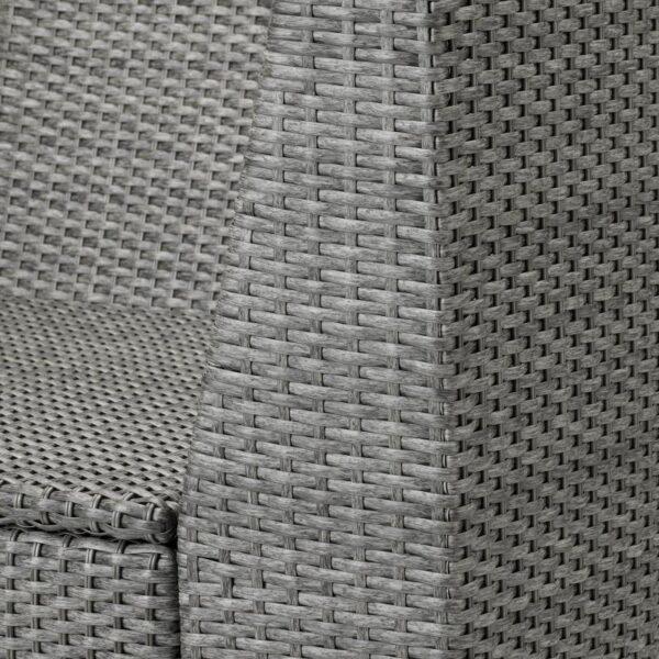 СОЛЛЕРОН Садовая угловая секция, темно-серый - Артикул: 704.245.95