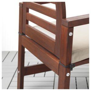 ФРЁСЁН/ДУВХОЛЬМЕН Подушка на садовый стул, бежевый 50x50 см - Артикул: 092.913.30