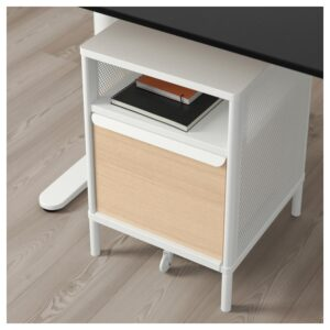 БЕКАНТ Модуль для хранения, на ножках сетка белый 41x61 см - Артикул: 992.824.25