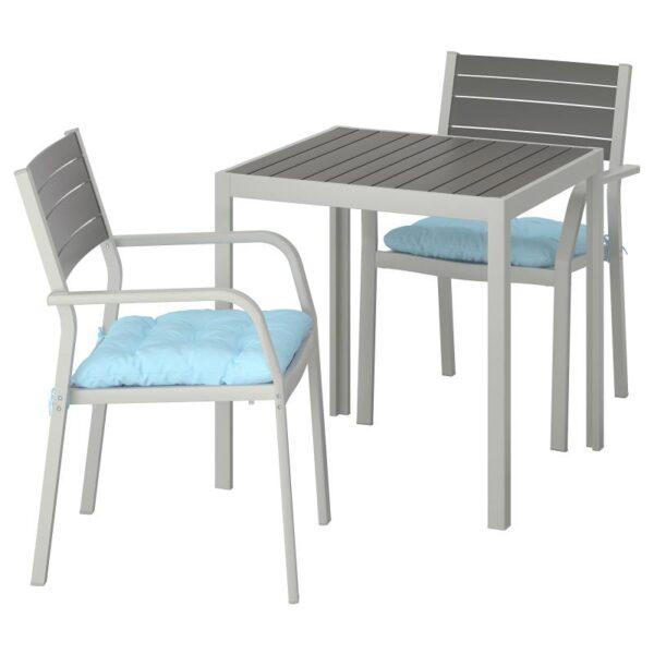 ШЭЛЛАНД Садовый стол и 2 легких кресла - Артикул: 792.914.78