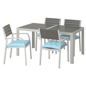 ШЭЛЛАНД Стол+4 кресла, д/сада - Артикул: 892.915.43