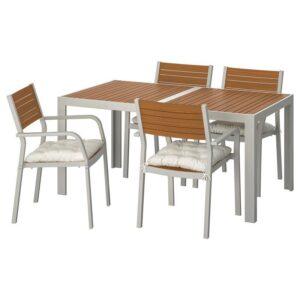 ШЭЛЛАНД Стол+4 кресла, д/сада - Артикул: 092.914.91