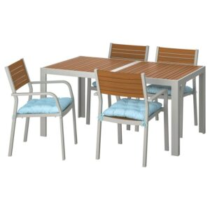ШЭЛЛАНД Стол+4 кресла, д/сада - Артикул: 092.915.37