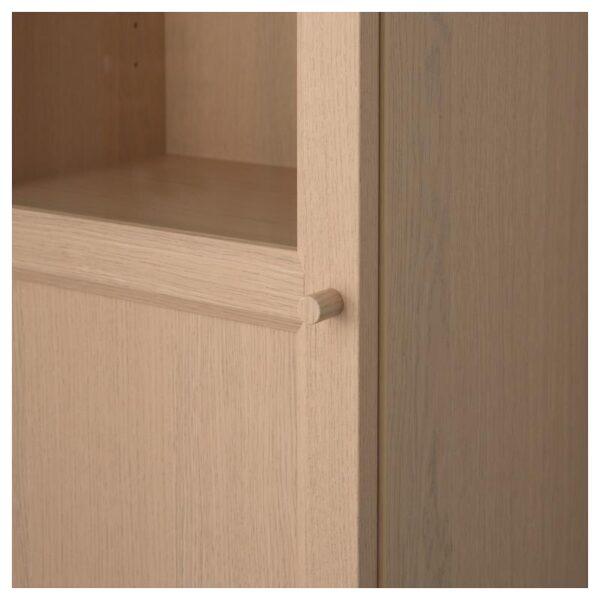 БИЛЛИ / ОКСБЕРГ Стеллаж/панельная/стеклянная дверь - Артикул: 992.874.18