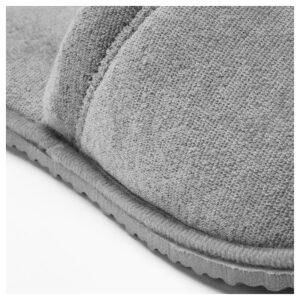 ТОШЁН Домашние тапочки, серый L/XL - Артикул: 703.920.28