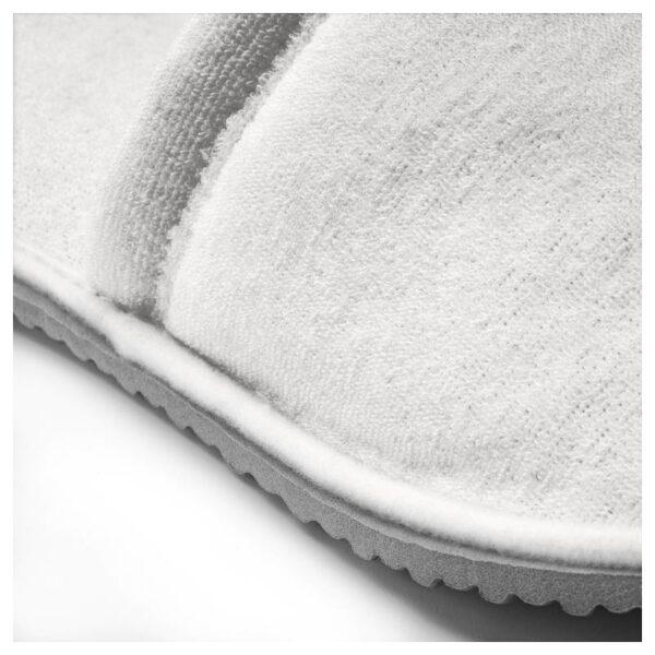 ТОШЁН Домашние тапочки, белый L/XL - Артикул: 303.920.25