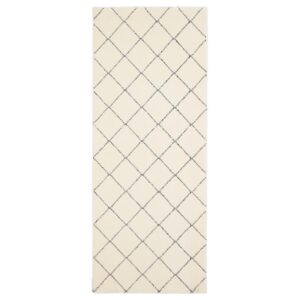 АРНАГЕР Ковер, белый/бежевый 80x150 см - Артикул: 204.271.34