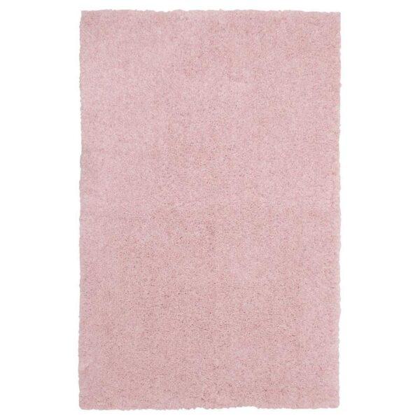 ЛИНДКНУД Ковер, длинный ворс, розовый 60x90 см - Артикул: 904.299.50