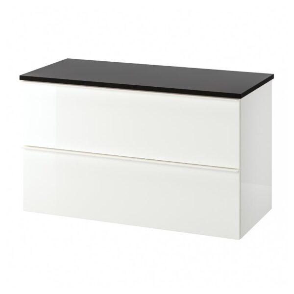 ГОДМОРГОН / ТОЛКЕН Шкаф для раковины с 2 ящ - Артикул: 192.954.98