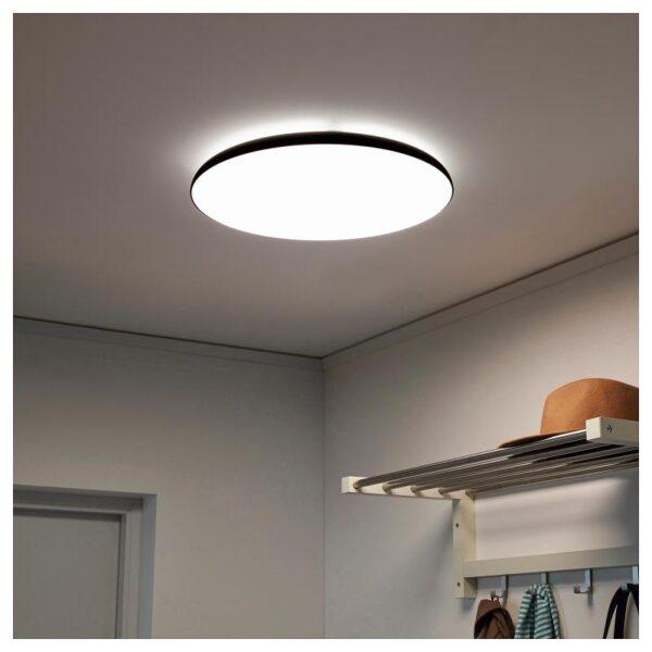 НИМОНЕ Светодиодный потолочный светильник, антрацит - Артикул: 104.150.99