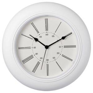 СКАЙРОН Настенные часы белый 30 см - Артикул: 004.313.73