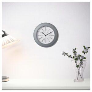 СКАЙРОН Настенные часы серый 30 см - Артикул: 204.313.72