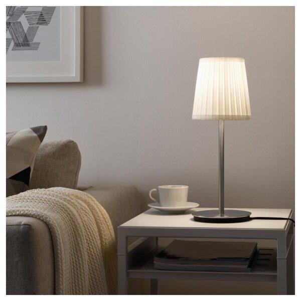 СКАФТЕТ Основание настольной лампы, никелированный 30 см - Артикул: 304.054.43