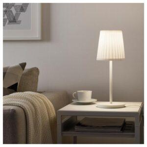 СКАФТЕТ Основание настольной лампы, белый 30 см - Артикул: 204.060.04