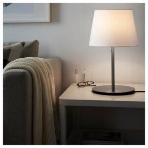 СКАФТЕТ Основание настольной лампы, никелированный 38 см - Артикул: 704.054.41