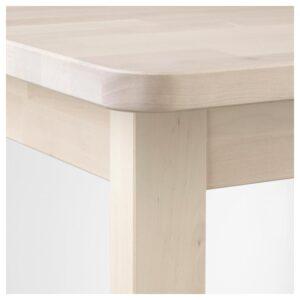 НОРРОКЕР Барный стол, береза 74x74 см - Артикул: 104.290.15