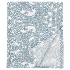 ЙЭТТЕВАЛЛМО Простыня, белый/синий 240x260 см - Артикул: 604.366.07