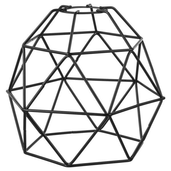 БРЮНСТА Абажур для подвесн светильника, черный 20 см - Артикул: 504.376.12