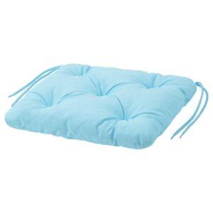 КУДДАРНА Подушка на садовый стул, голубой 36x32 см - Артикул: 504.110.75