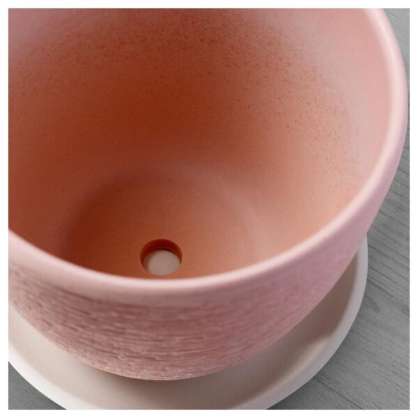 СКАКИГ Горшок цветочный светло-розовый 19 см - Артикул: 904.313.59