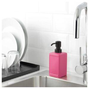 РИННИГ Дозатор для жидкого мыла, розовый 450 мл - Артикул: 504.288.82
