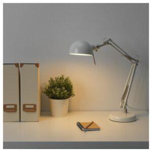 ФОРСО Лампа рабочая, белый - Артикул: 604.444.24