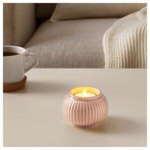 СТИЛРЕН Подсвечник для греющей свечи, светло-оранжевый 6 см - Артикул: 904.447.95