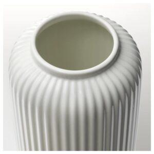 СТИЛРЕН Ваза, белый 22 см - Артикул: 104.420.50